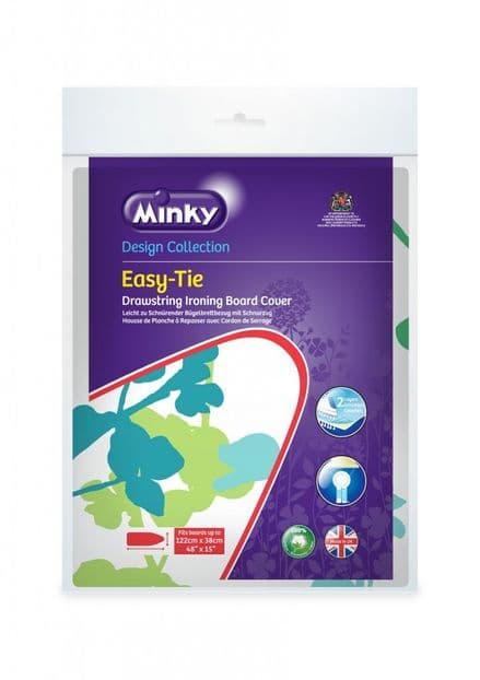 Minky Drawstring (Easytie) Ironing Board Cover - 122 x 38cm